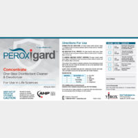 PCON242021 Peroxigard® Labels for Concentrate, self-adhesive (pack of 25)