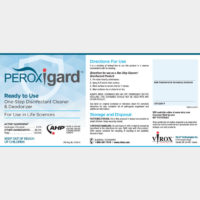 PRTU242020 Peroxigard® RTU Labels, self-adhesive, (pack of 25)