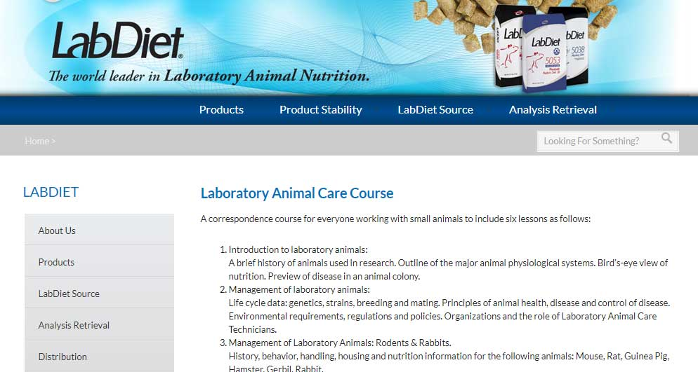 Laboratory Animal Care Course